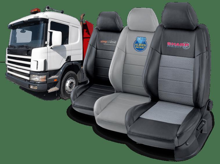 Poťahy do auta pre profesionálnych vodičov nákladných i osobných áut
