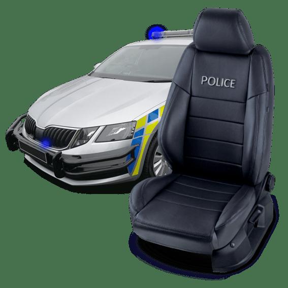 Špeciálne autopoťahy pre policajné zložky